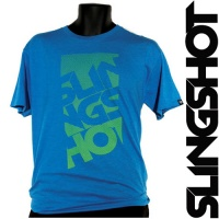 Футболка Slingshot Base Tee Blue