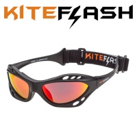 Очки для кайтсерфинга Kiteflash Boracay Galaxy Black Amalgam lenses