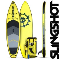 SUP борд Slingshot 2017 Crossbreed Airtech Yellow
