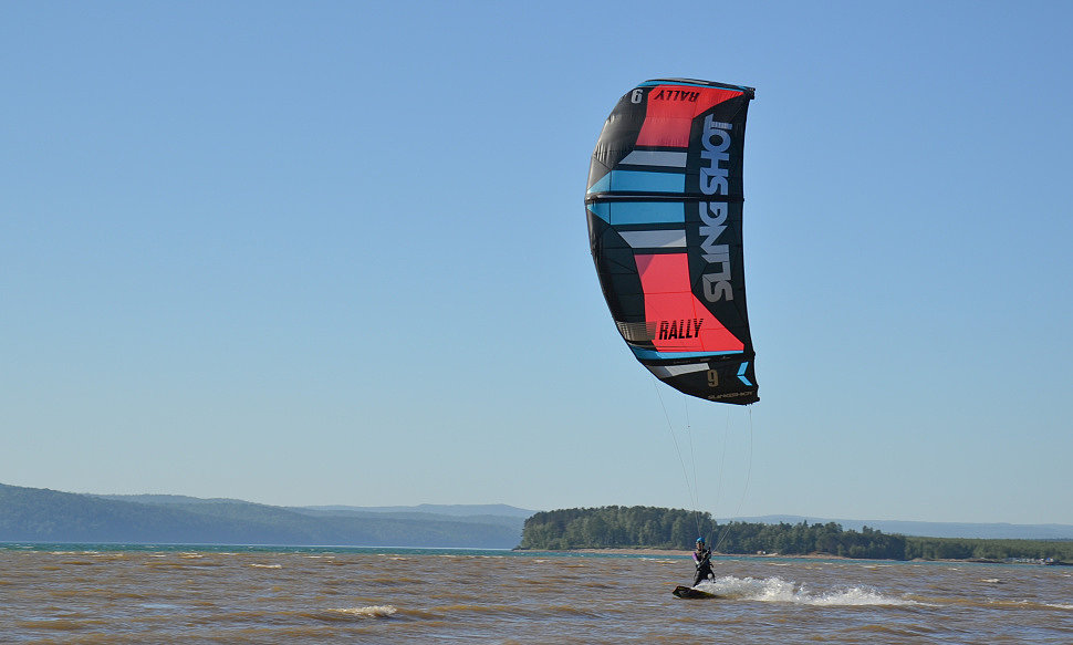 test kiteboard Shaman