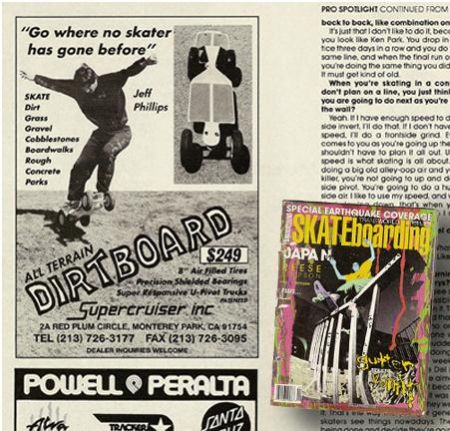 Transcorld Skateboarding Magazine