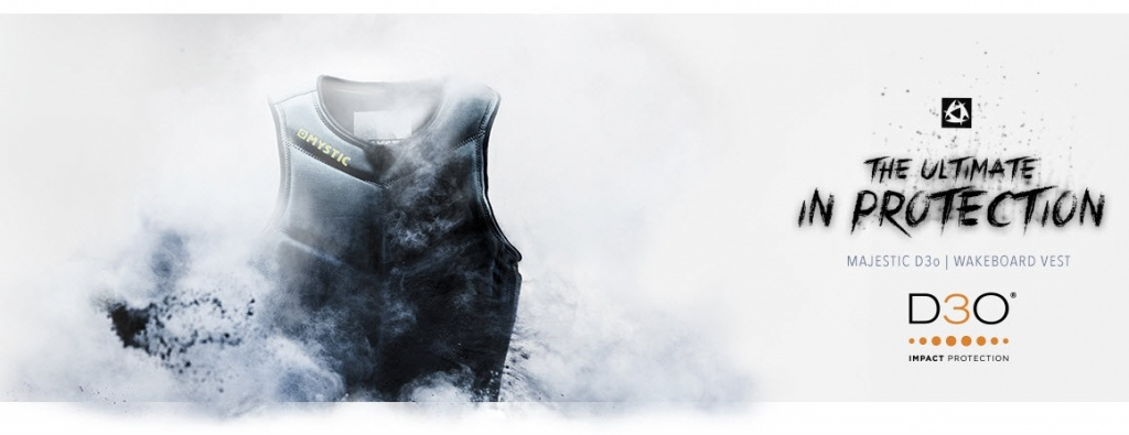 Спас. жилет Mystic Majestic D3O Kite Vest Grey
